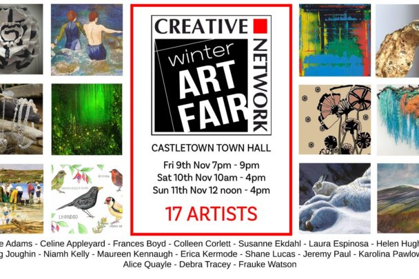Creative Network Winter Art Fair in the Town Hall